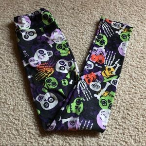 LulaRoe KIDS leggings L/XL